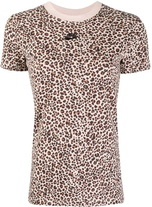Nike leopard print T-shirt