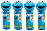 Little Kids Sesame Street 4-pk. Cookie Monster Bubble Heads Bubble Pack by