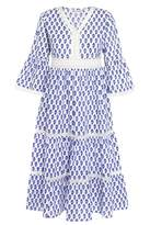 Pink City Prints - Tallum Provencal Dress - Small
