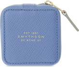 Smythson Panama small leather trinket case