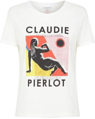 Claudie Pierlot Logo Print T-Shirt