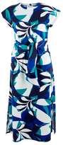 Wallis **Closet Multi Coloured Tie Front Jersey Shift Dress