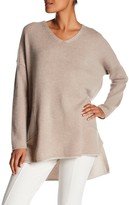 Eileen Fisher V-Neck Cashmere Knit Tunic
