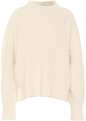 Jil Sander Oversized ribbed-knit wool sweater