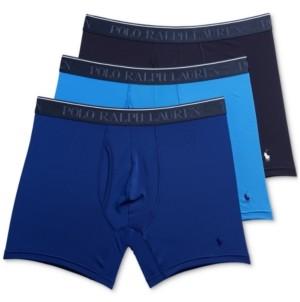 Polo Ralph Lauren Men's 3-Pk. Classics Microfiber Boxer Briefs