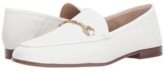 Sam Edelman Loraine Loafer (Dark Tan Glitter Linen Weave) Women's Dress Sandals