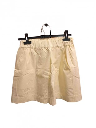 Cos Yellow Skirt for Women