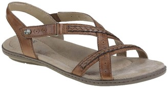 Earth Origins Wide Width Belle Bentley Braided Slingback Sandal