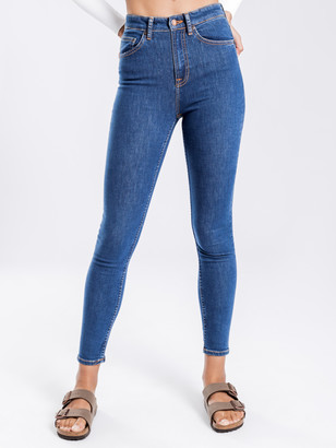 Nudie Jeans Hightop Tilde Skinny Jeans in Light Navy