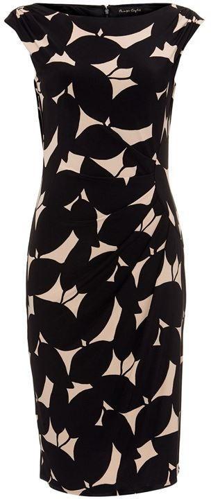 Phase Eight Laurita Leaf Print Jersey Dress