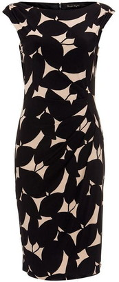Phase Eight Laurita Leaf Print Jersey Dress