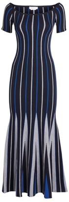 Gabriela Hearst Geometric Knitted Dress