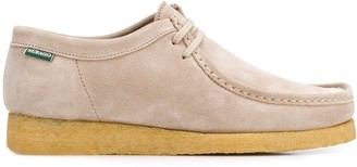 Sebago Suede Laced Loafers
