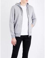 Armani Jeans Logo-print cotton-jersey hoody