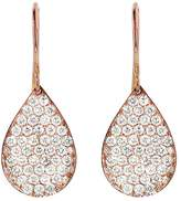Irene Neuwirth Pave Diamond Teardrop Earrings - Rose Gold