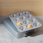 Crate & Barrel Calphalon ® 12-Cup Covered Cupcake Pan