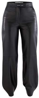 Off-White Off White Leather trousers