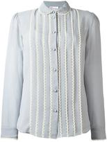 RED Valentino scallop trim shirt - women - Silk - 42