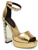 Jeffrey Campbell Women's Mika Embellished Platform Sandal