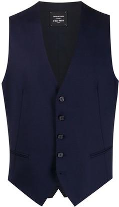 Tagliatore Brian front slit waistcoat jacket