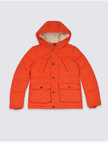 Marks and Spencer Hooded Parka with StormwearTM (3-14 Years)