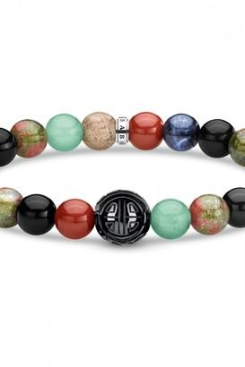 Thomas Sabo Jewellery Multi-stone Stretch Beaded Bracelet A1943-353-7-L18