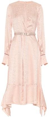 Jonathan Simkhai Silk-blend jacquard midi dress