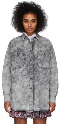 Etoile Isabel Marant Grey Denim Lynton Shirt