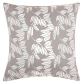 Nourison Mina Victory Luminecence Olive Leaves Throw Pillow