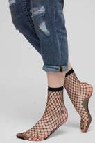 Free People Sugar Sugar Fishnet Ankle Socks