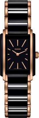Rado Integral Quartz Watch with Ceramic Strap