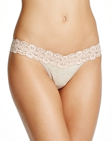 Hanky Panky Heather Jersey Low-Rise Thong