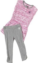 Converse Infant Girls Dress And Leggings Set Vintage Grey Heather