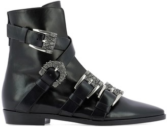 Etro Buckle Ankle Boot