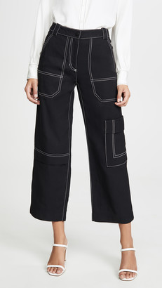 3.1 Phillip Lim Slim Denim Cargo Pants