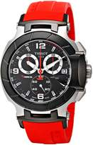 Tissot Men's T-Race Strap Chronograph Watch T0484172705701