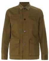 Officine Generale Cargo Pocket Denim Jacket