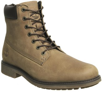 Timberland Mens Slim 6 Inch Boots Oakwood Leather