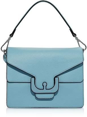 Coccinelle Ambrine Graphic Leather Shoulder Bag