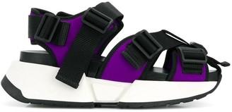 MM6 MAISON MARGIELA Safety Strap platform sneakers