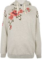 Topshop MATERNITY Floral Embroidered Sweater