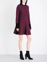 Sportmax Ticino knitted mini dress