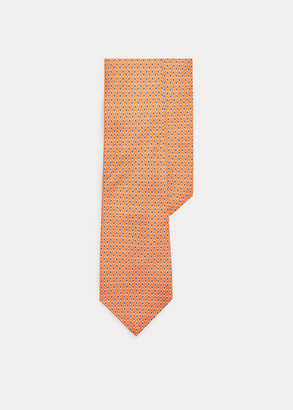 Ralph Lauren Micro-Diamond Silk Tie