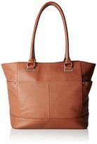 Tignanello Overtime Pebble Leather Large Tote Bag