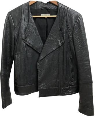 Dagmar Black Leather Jacket for Women