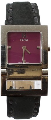 Fendi Purple Steel Watches