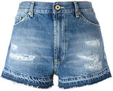 Dondup distressed denim shorts - women - Cotton - 25