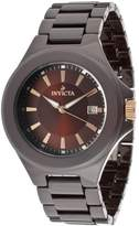 Invicta Men's DNA/Camouflage Blue Camouflage Dial Black Silicone