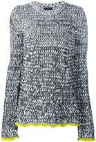 Joseph marl knitted jumper - women - Cotton/Polyamide - XS