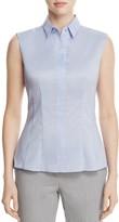 BOSS Bashiva Sleeveless Poplin Shirt